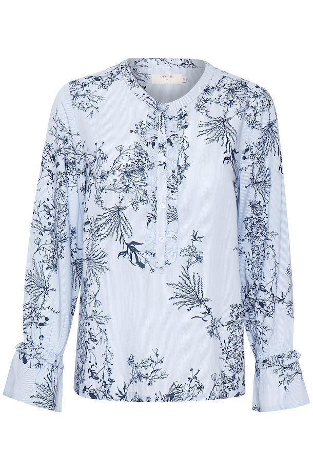 815d3f59f937d5 Lavender Blue Blouse with long sleeve fra Cream – Køb Lavender Blue Blouse  with long sleeve fra ...